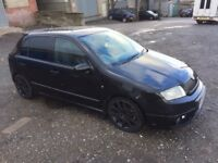 2006 SKODA FABIA VRS EDITION 428 5DR 1.9 BLACK DIESEL*** A FULLY LOADED VERY VERY MODIFIED EXAMPLE**