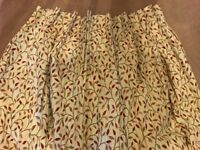Johnn Lewis lined pinch pleat curtains