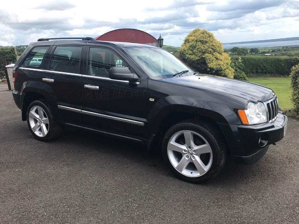 2007 jeep grand cherokee 3.0crd limited auto / part exchange