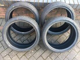 4x 195/40/17 Brand New Landsail Tyres