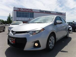 2014 Toyota Corolla S TOYOTA CERTIFIED PRE OWNED