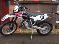 Husqvarna WR 125 2008 Road legal Learner legal CBT