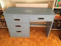 Children's bedroom desk with drawers
