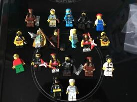 Genuine Lego minifigures