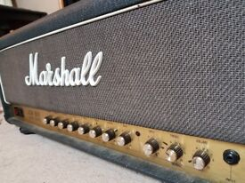 Marshall JCM800 2205 ORIGINAL 50watt mod 6550 TUBES