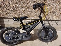 Batman bike suitable ages 3-5 yrs. Fabulous condition, £40 (£99 nee)...helmet free
