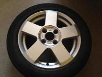 1 Ford Fiesta Alloy Wheel 195-50-R15