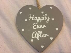 """Happily Ever After"" Decoration"