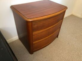 Small Vintage Drawers / Bedside Table