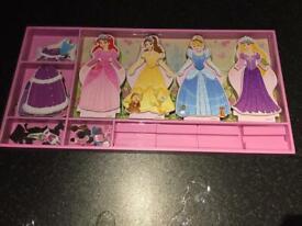 Melissa & Doug Magnetic Disney Princess Dress Up