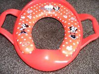Minnie Mouse Toddlers Toilet Training Seat.