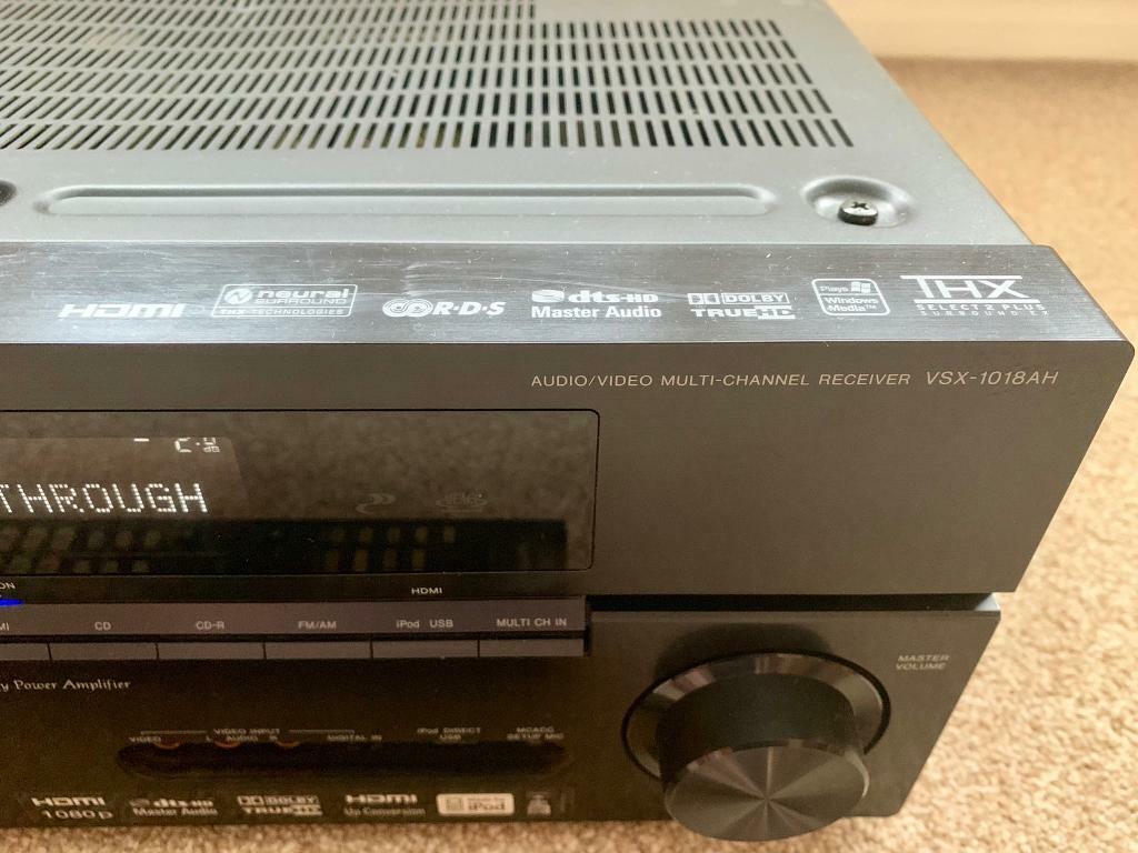 Pioneer VSX-1018AH 7:1 Home Cinema Receiver   in Blackwater, Surrey    Gumtree