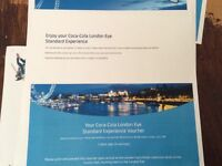 2 Adult Tickets for The Coca Cola London Eye
