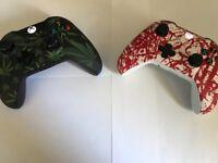2 Custom Xbox One Controllers