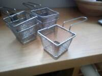 Chip baskets x5