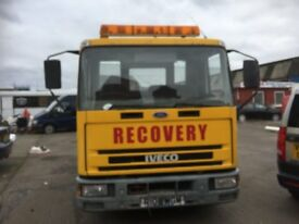 Ford Iveco 7.5 tonne Recovery truck