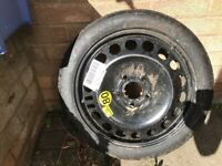 Spare wheel as new condition