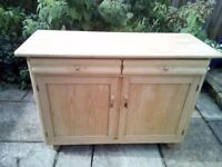 Antique pine sideboard REDUCED