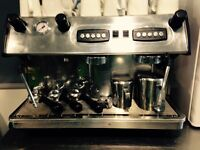 SILVESTRE 2 group Commercial Coffee Machine - 2 phase - perfect used condition