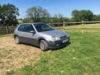 Citroen saxo vtr tidy front end smashed replaceable or spares and repairs