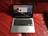 "Apple MacBook Pro 13"" Intel i5/ 8gb ram/ 750gb hdd"