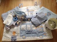 Next 'Cheeky Monkey' Cot Bed Bedding & Accessories