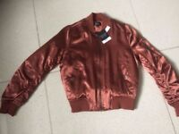 Brand New Topshop Ladies Bomber Jacket with tags