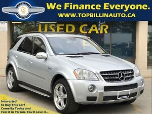 2007 Mercedes-Benz M-Class ACCIDENT FREE, ML63 AMG, Navigation