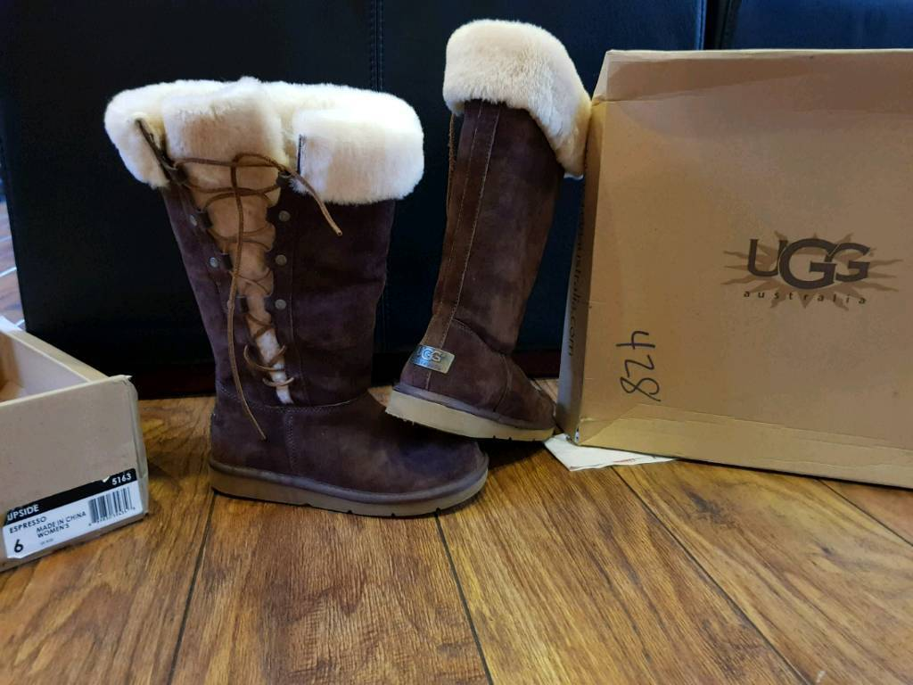 e6701ced23e New price LADIES TALL UGG BOOTS CHOCOLATE SIZE 4 .5 | in Ormskirk,  Lancashire | Gumtree