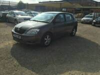 TOYOTA COROLLA T3 5DR VVT-I FSH IMMACULATE CONDITION THROUGHOUT FOR AGE