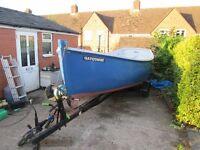 17 ft fishing boat