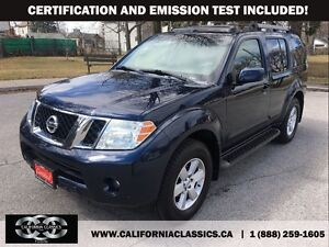 2008 Nissan Pathfinder LEATHER SUNROOF 7PASS - 4X4