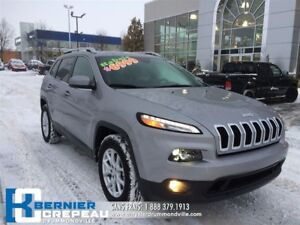 2017 Jeep Cherokee North **4X4, ENS. CHAUFFANT, CAMERA + WOW**