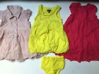 Baby Girl Bundle Summer dresses, 6/12 months £9 Ref. 0087