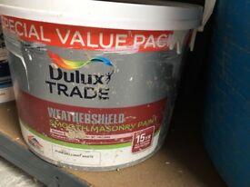 Dulux weathershield PBW 1 litre