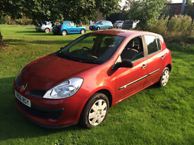 Reduced to sell!!!!!!!!! Renault Clio 1.2 Expression 5 door Hatchback petrol Facelift Model