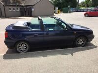 Golf convertible 1.8 . MOTD 2019 . Very good driving car. Everything works.