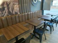 Bench Seating Booth Seating Bespoke Upholstery Restaurant Club Pubs Salons Hotels Cafe