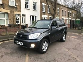 TOYOTA RAV4 AUTOMATIC, 05 REG, MOT, 1 OWNER, from new HPI CLEAR, DELIVERY AVAILABLE, MINT