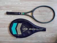 Vintage 1980s Dunlop Max 200G tennis racquet