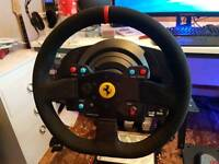 Sim Racing: Steering Wheel and Pedal Set - Gear Shift - Spare Wheel