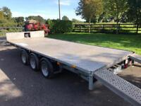 IFOR WILLIAMS 16'x6' Tri-Axle Flat bed Trailer