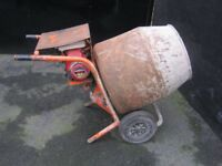 Belle Mini Mix 140 Petrol Cement / Concrete Mixer