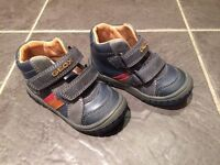 GEOX Boots- wee boy size 5. NEVER WORN.