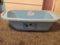 Mothercare blue baby bath