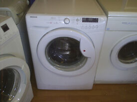 HOOVER VISION HD MEGA 9KG WHITE WASHING MACHINE fully reconditioned & clean