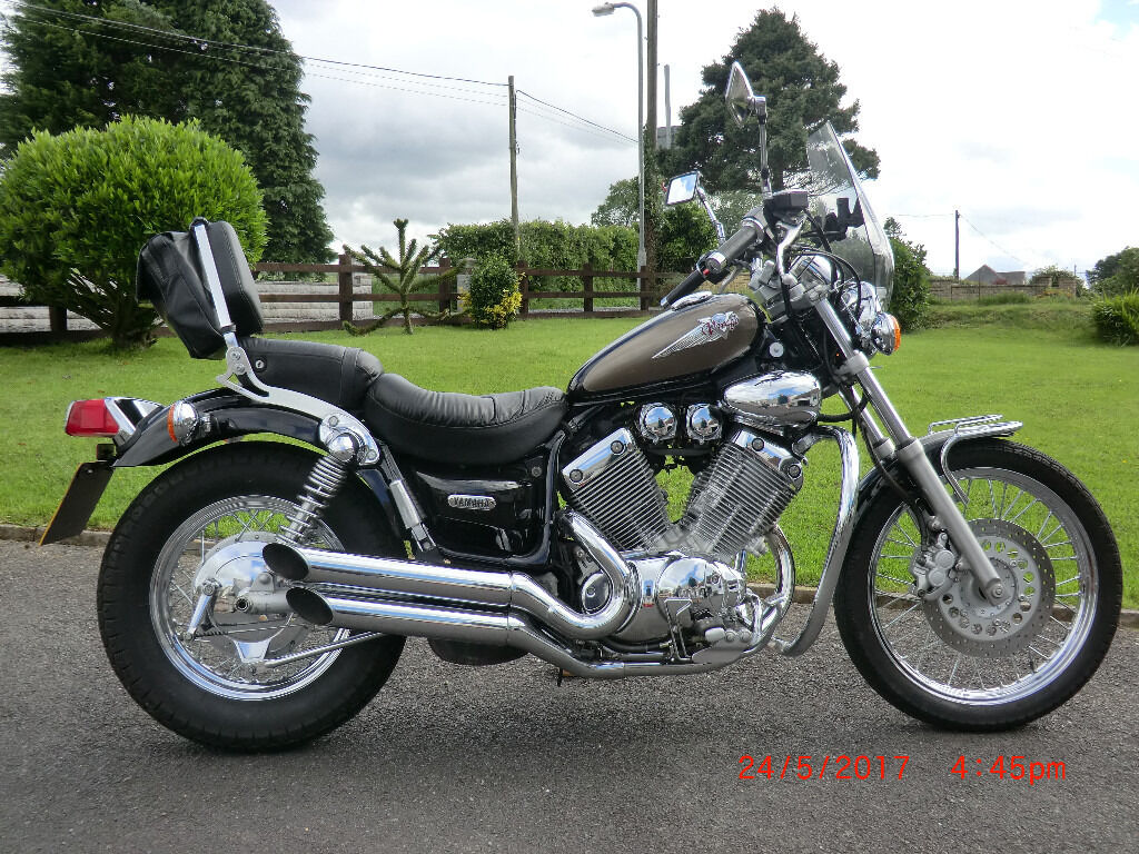yamaha virago 535 for sale in pencader carmarthenshire gumtree. Black Bedroom Furniture Sets. Home Design Ideas