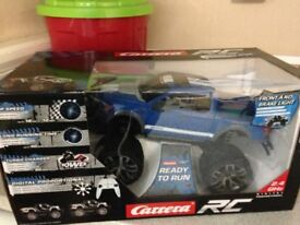 Carrera Remote Controlled Ford pick up 4 x 4 Brand new
