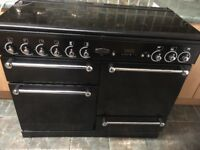 RANGEMASTER 110 BLACK DOUBLE OVEN IN EXCELLENT CONDITION (10 months old)