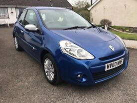 2010 Renault Clio 1.2 i-Music**Group 3 Insurance**40k Miles **Cards Accepted**
